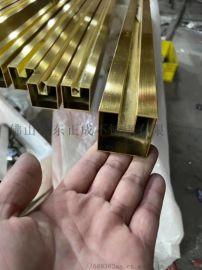湖南拉丝青古铜304不锈钢圆管多少钱一支
