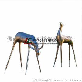 大型不锈钢雕塑佛山加工厂定制,公司标志景观雕塑厂家