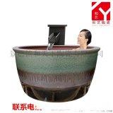 景德镇厂家定制圆形椭圆形泡澡大缸