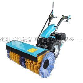沈阳万洁罗图氏td1200三合一小型手推式扫雪机