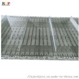 conveyor belt 链板输送带 加横挡板