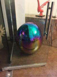 辽宁 酒店室内电镀圆球雕塑 球型雕塑装饰工艺品