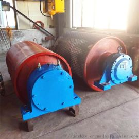 固定皮带机630包胶驱动滚筒 阻燃橡胶包胶驱动滚筒