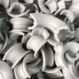 冶金再生塔陶瓷矩鞍环填料别名陶瓷马鞍环