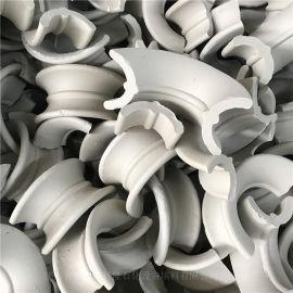 冶金再生塔陶瓷矩鞍環填料別名陶瓷馬鞍環