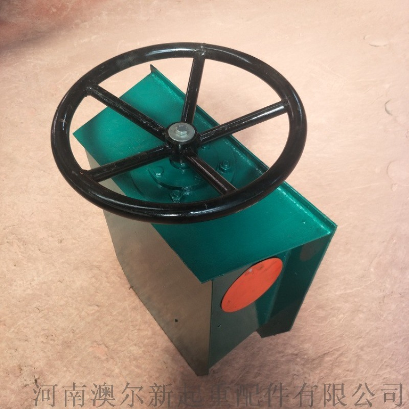 方向盤式防風夾軌器 起重機手動夾軌器 龍吊夾軌器