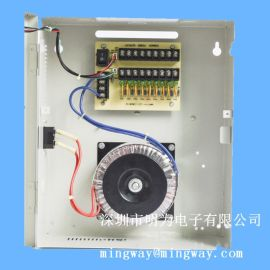 AC/AC安防电源 24V10A室外铁壳电源