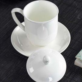 会议茶杯 定做会议礼品茶杯 陶瓷茶杯厂家