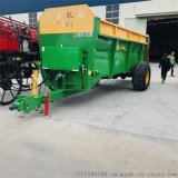 大型撒肥機 農田有機肥撒肥機 發酵糞肥快速撒肥車