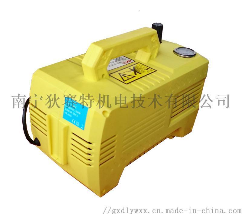 低噪声便携式家用高压洗车机 小型高压清洗机