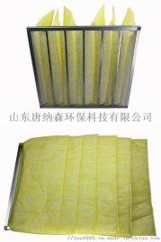 北京空气过滤设备 制药车间用袋式过滤器 中效过滤袋