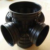 HDPE污水雨水重型轻型加厚四通塑料检查井厂家