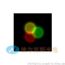 多波長擴散片是特殊的平頂光束整形微折射擴散器,