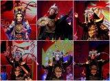 晚会年会节目演出 魔术 小丑 变脸 舞狮 鼓舞