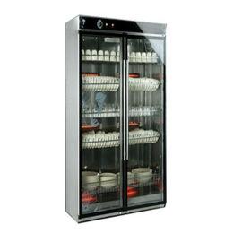 厨房设备大型双玻璃门消毒柜