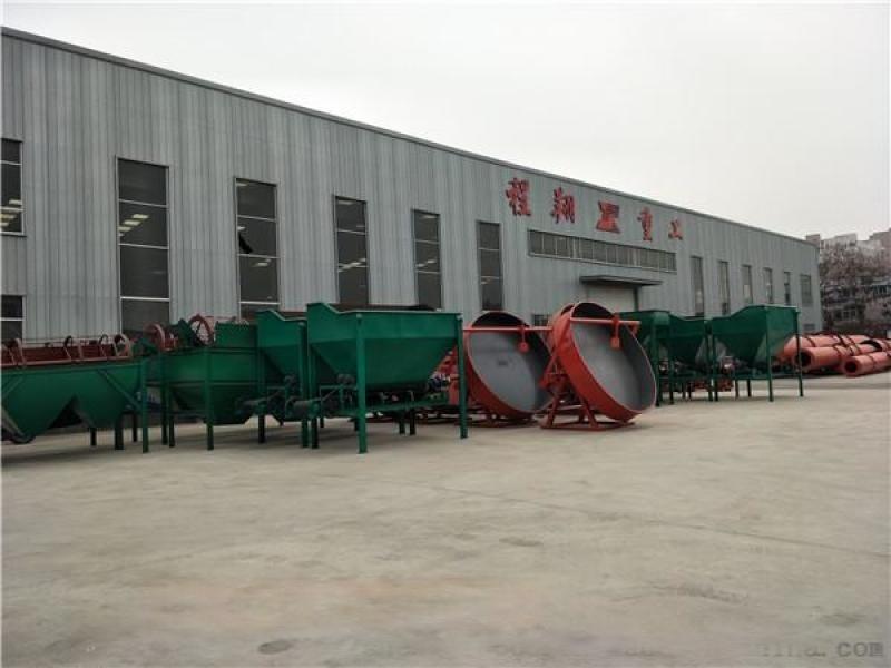 猪粪发酵履带式翻抛机 大型猪粪有机肥生产线厂家直销