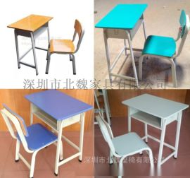 供應廣州KZY001  鋼木課桌椅廠家