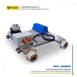四座軌道檢測設備 電動平板搬運車 鋼軌探傷儀