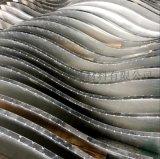 弧形鋁合金方通鋁方通木紋吊頂弧形鋁方通廠家