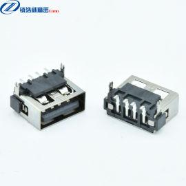 USB连接器 母座 单层短体90度10.0