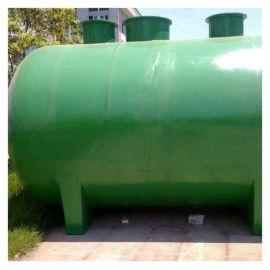 玻璃钢宾馆隔油池 霈凯 水循环化粪池