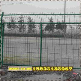 双边丝护栏网浸塑铁丝围栏网陕西高速护栏网