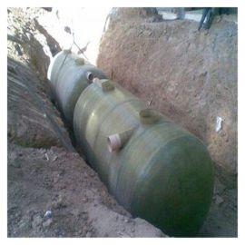 污水处理化粪池  霈凯 玻璃钢组装式化粪池