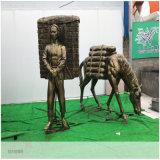 梅州玻璃钢雕塑 校园文化主题雕塑