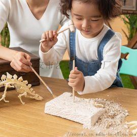 ecoey考古玩具挖掘科教益智拼插模型