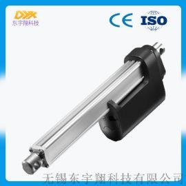 直流电动推杆 强劲自锁不下滑 断电可手摇伸缩电机