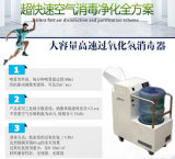 空间喷雾消毒机,过氧化氢消毒系统