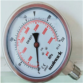 500MPA  压不锈钢压力表