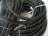 PP阻燃管PA尼龙穿线黑色软管电线缆护套可开口
