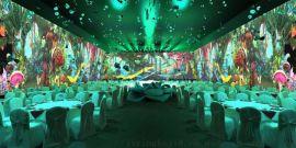 全息宴会厅,全息婚宴厅设计施工,集影科技