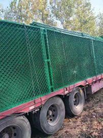 蚌埠巢湖生产pvc包塑丝勾花围栏网 组装式球场护栏
