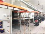 自动喷漆设备往复机指纹锁具静电喷漆