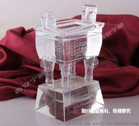西安水晶制品厂家 水晶奖杯水晶工艺品