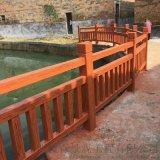 江西水泥护栏,广东艺术栏杆,福建围栏,仿木纹护栏