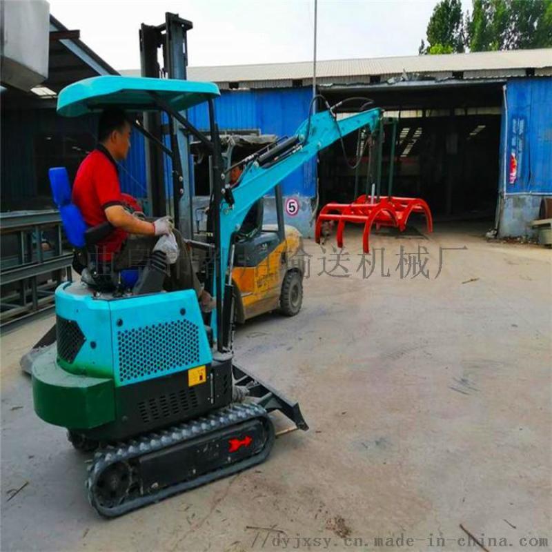勾机尺寸 小型挖掘机厂家电话 六九重工 果园小型挖