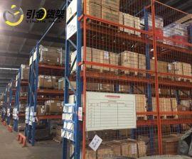 青岛引金重力型承载2-4吨重型横梁托盘式仓储货架