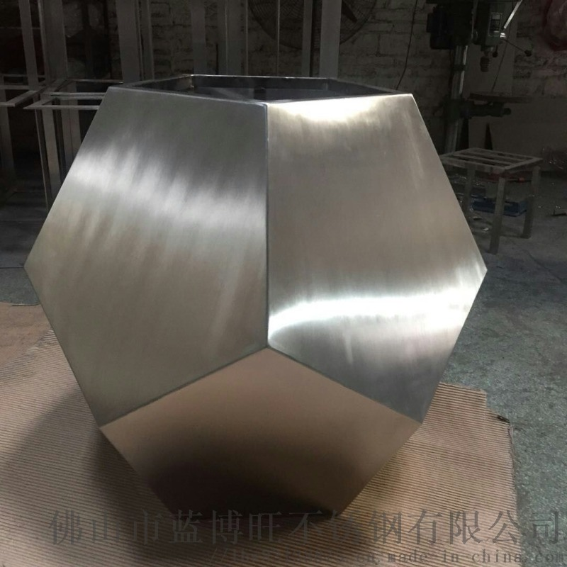 佛山蓝博旺供应不锈钢多边形艺术 花盆