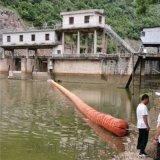 跨越航道 航道水站攔污浮筒 截污浮標