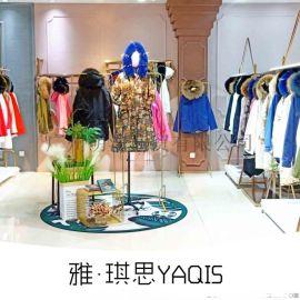 时尚新款派克服雅思琪女装折品牌折扣店拿货渠道