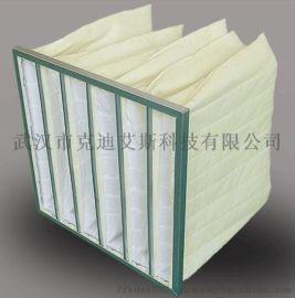 郑州中效袋式过滤器 无纺布静电棉中央空调过滤网