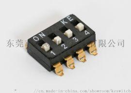 KE撥碼開關2.54MM 高柄貼片耐高溫