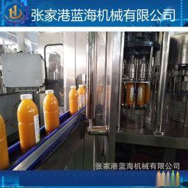 果汁饮料灌装机 全自动三合一果汁饮料灌装生产线