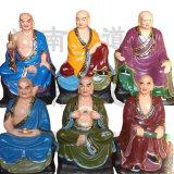 河南大型佛像总厂 五百罗汉 树脂十八罗汉佛像
