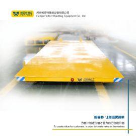 模具运输15吨平移转车 定制搬运水泥管轨道牵引车
