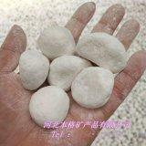 供应白石子 别墅园林铺路专用白石子 白色鹅卵石