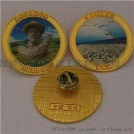 石家庄定制金属标牌纪念章徽章胸章logo订做设计
